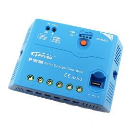 Solar charge controller EPEVER LS**EU 5/20/30A 12/24V USB