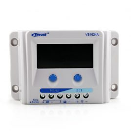 EPEVER 10A SOLAR CHARGE CONTROLLER VS1024A LCD ENERGY METER