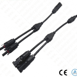 """TWO PAIRS OF MC4 """"Y"""" CONNECTORS FOR SOLAR PANELS"""