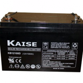 12v 26/33/55/75/100/150/200Ah Kaise AGM Sealed Battery