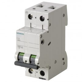 2 Pole Siemens DC Breaker 16A ,32A , 40A ,63 A for photovoltaic applications
